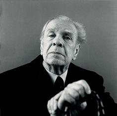 Borges retratado por Humberto Rivas, 1972