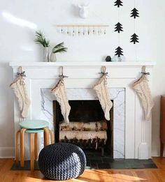 Black & White Christmas Decor - Miranda Schroeder
