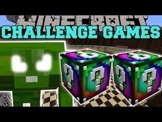 [Popularmmos - Minecraft ]PAT AND JEN SPIDER TITAN CHALLENGE GAMES