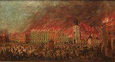 Wielkie pożary miast na Górnym Śląsku. W Opolu w 1655 r. jeden z mieszczan musiał zapłacić karę 6 tal. 24 gr. za niewłaściwą budowę pieca i komina.