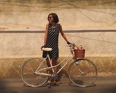 Oriental Rock Star Handmade Dresses, Dress Skirt, Oriental, Babe, Bicycle, Rock, Star, Skirts, Fashion