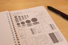 ほぼ日手帳のダウンロードシティーには、たくさんのテンプレートがあります。それをA5ルーズリーフぴったりに印刷す... Time Is Money, Monthly Planner, Diy And Crafts, Knowledge, Notebook, Bullet Journal, Notes, Education, Stationary