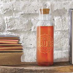 Sauce Bottled Up Desktop Decanter in Gifts For Men by Fred