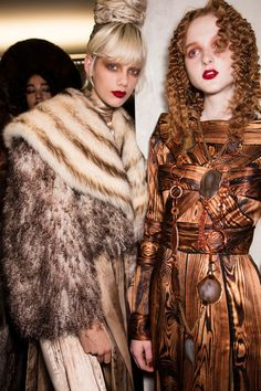 Jean Paul Gaultier at Couture Fall 2016 - Backstage