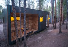 Gallery of COBS Year-Round Micro Cabins / Colorado Building Workshop - 13