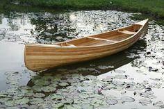 Handcrafted Cedar-strip Prospector Canoe, made in Canada Canoe Camping, Canoe Boat, Canoe And Kayak, Jon Boat, Get Outdoors, The Great Outdoors, Kayaking, Canoeing, Wood Canoe