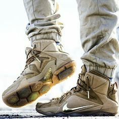 "Nike LeBron 12 EXT ""Wheat"""
