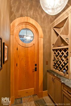 1000 images about entry doors on pinterest carriage for Garage wine cellar