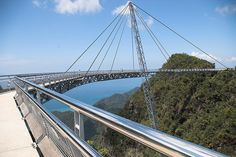 Pedestrian bridge at Gunung Mat Cincang - Langkawi, #Malaysia by miraculix1951, via Flickr