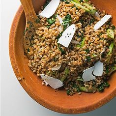On your Summer Bucket List: Revive Ancient Grains. Read why from @TastingTable Hot 100 #Faro #Salad