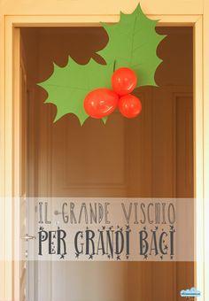 la decorazione natalizia contro lastinenza: il vischio fai da te - Quandofuoripiove
