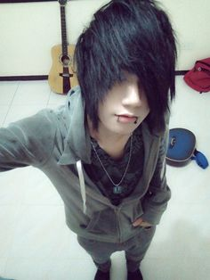 cute emo boy - Buscar con Google