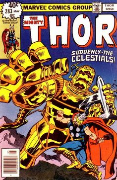 Covers of comics that were out on the day I was born - Thor
