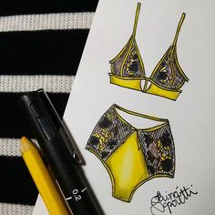 illustration lingerie