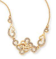 Embellished Filigree Collar Necklace