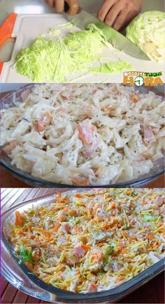 Menu Dieta Clean Eating For Beginners Gourmet Coleslaw Portuguese Recipes Easy Meals Recipes From Heaven Vegetarian Recipes Cooking Recipes Vegetarian Recipes, Healthy Recipes, Tortilla, Recipes From Heaven, International Recipes, Easy Cooking, Going Vegan, Love Food, Salad Recipes