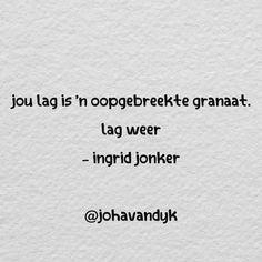 Afrikaans, gedig, Ingrid Jonker Afrikaans Quotes, My Journal, Van, Inspirational, Words, Vans, Horse, Vans Outfit