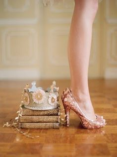 @Rachael Higgins:  how perfect would these be with the sparkly tulle under the doily dress???