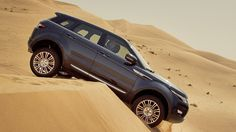 Range Rover Evoque - it can handle all of the elements!