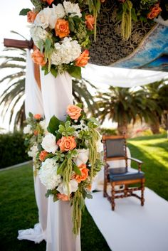 Elegant Floral Wedding Arch