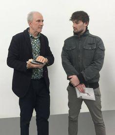 Francesco De Prezzo e Massimo Minini  Galleria Massimo Minini Brescia  Contemporary art opening