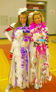 Homecoming mums for Barbie girls!