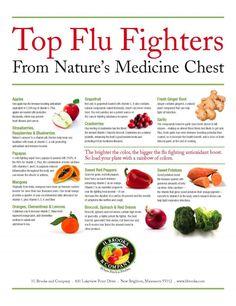 Marketing Flu Fighting Foods - from www.hbrooks.com