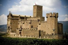 CASTLES OF SPAIN (2) Castillo de Javier, #Navarra