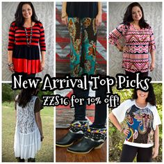 Here are some of my most favorite new arrivals of the week!  There are lots of good ones, so be sure to check them out at www.zigzagstripe.com!  And enter ZZS16 for 10% off!  Plus shipping is free and there's no tax (except in TX)! #taxfree #freeshipping #ilovezigzag #thezigzagstripe #zzs #zzsteachers #zigzagstripe