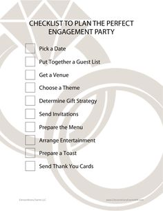 10 Steps to Plan the Perfect Engagement Party — Extraordinary Events