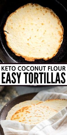 Nutritious Snack Tips For Equally Young Ones And Adults Keto Tortillas, Quick And Easy To Make And Very Soft And Pliable, This Is The Best Gluten Free Recipe Made With Coconut Flour These Wraps Are Perfect For Lunch Or Dinner. Coconut Flour Tortillas, Recipes With Flour Tortillas, Coconut Flour Bread, Keto Tortillas, Almond Flour, Gluten Free Tortilla Recipe Coconut Flour, Cooking With Coconut Flour, Coconut Oil, Best Gluten Free Recipes