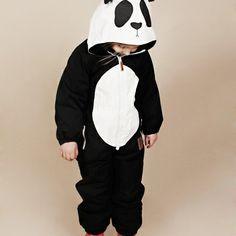 OMG. PANDA OVERALL by Mini Rhodini