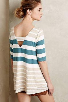 Stripe Mix Tunic - anthropologie.com #puella