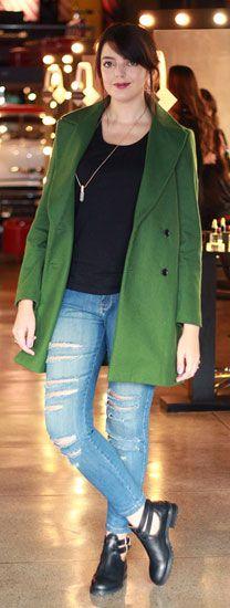 4 jeitos de usar: Casaco verde | Just Lia