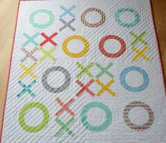 """""""Big Hugs, Little Kisses"""" by Hyacinth Quilt Designs Perfect baby quilt."""