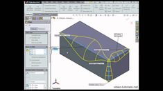 Here is #SOLIDWORKS Variable Radius Fillet - SOLIDWORKS tutorials