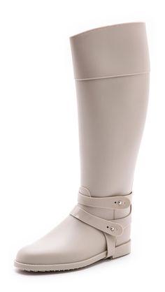 equestrian style rain boots
