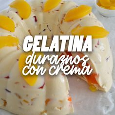 Gelatin Recipes, Jello Recipes, Mexican Food Recipes, Sweet Recipes, Snack Recipes, Good Food, Yummy Food, Tasty, Deli Food