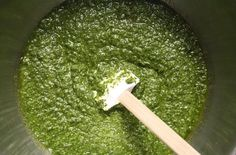 Basil pesto is a versatile Italian sauce that is delicious with just about anything. With summer almost here and with the abundance of fresh herbs, there is no reason why you cannot make pesto at home. A combination of basil, pine nuts, Parmesan cheese, g Sauce Pesto, Pasta Al Pesto, Marinara Sauce, Cheese Sauce, How To Make Pesto, How To Make Homemade, Making Pesto, Couscous Quinoa, Nut Free Pesto