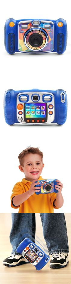 Cameras 158700: New Vtech Kidizoom Duo Digital Camera Waterproof Games Cam Kid Kids Zoom - Blue -> BUY IT NOW ONLY: $74.73 on eBay!