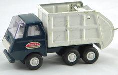 Tiny-Tonka Sanitary Service  No. 615 Garbage truck #Tonka