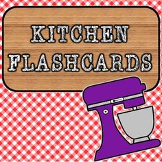 This French flashcard set focuses specifically on vocabulary found around the kitchen, including the most common appliances, and the dishes and cutlery that we use daily! Esl Resources, French Resources, Teacher Resources, French Teacher, Spanish Teacher, Classroom Language, Autism Classroom, Teaching Materials, Teaching Ideas