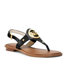 3cd34c67dc8 MICHAEL Michael Kors Aubrey Logo Thong Sandal. Just bought mine  ) So  excited !