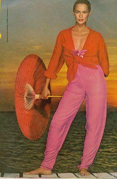 Lauren Hutton, c. 1980