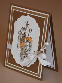 Holy Christmas by Wannabestampin' - Cards and Paper Crafts at Splitcoaststampers