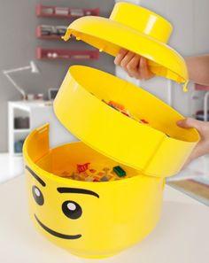 LEGO Aufbewahrungsbox - Aufräumen muss nicht langweilig sein!