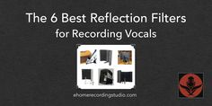 Shopping for a reflection filter to record vocals in your home studio? In this post I reveal the 6 best options on the market.
