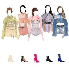 Kpop Fashion Outfits, Blackpink Fashion, Stage Outfits, Dance Outfits, Fashion Lookbook, Korean Fashion, Girl Outfits, Cute Outfits, Fashion Looks