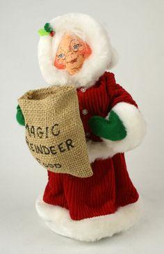 4 x 9 annalee christmas mrsclaus magic reindeer food - Annalee Christmas Decorations