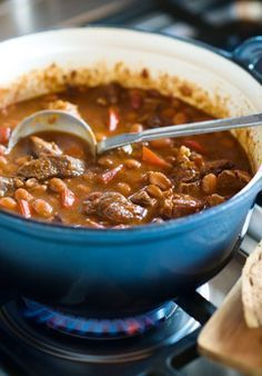 Chili con carne met rundvlees